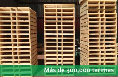 Recolección y reciclaje de tarimas de madera