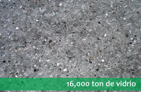 Recolección, acopio y reciclaje de vidrio y cristales