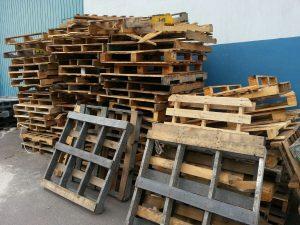 Recolección, acopio y reciclaje de tarimas de madera de diferentes medidas