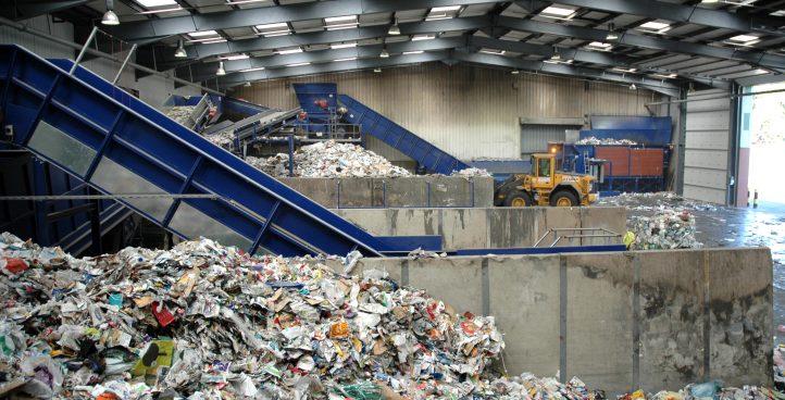 Centro de acopio y transferencia de residuos