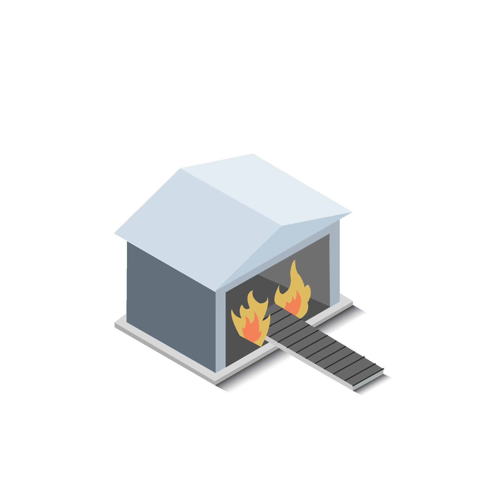 Incinerado de residuos peligrosos