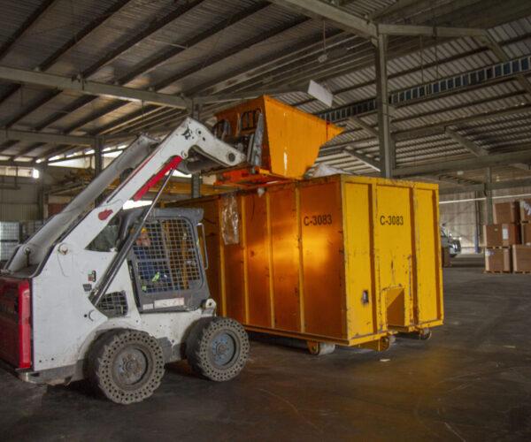 Clasificacion y separacion de reciclables